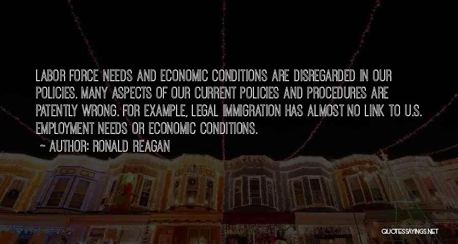 Economic Policies Quotes By Ronald Reagan