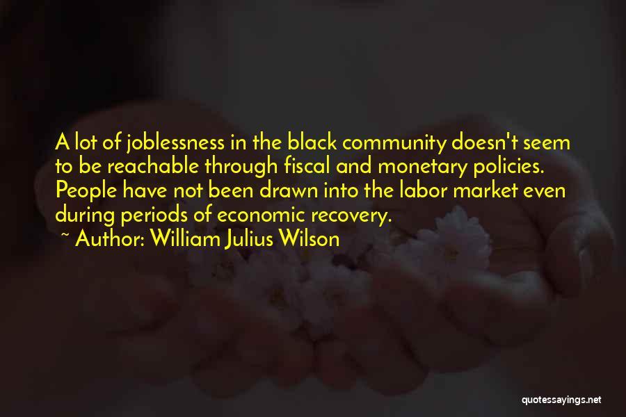 Economic Policies Quotes By William Julius Wilson