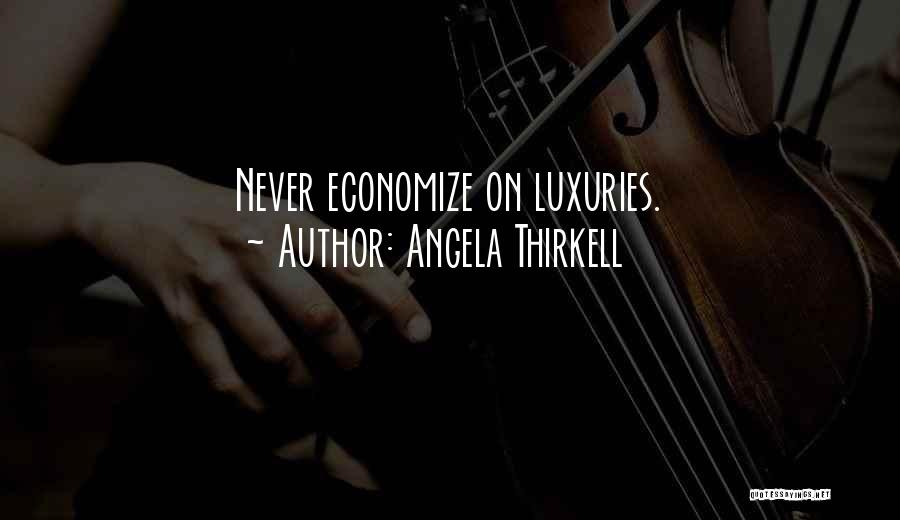 Economize Quotes By Angela Thirkell