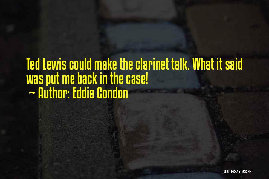 Eddie Condon Quotes 321158