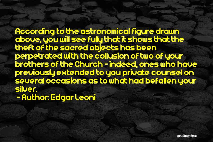 Edgar Leoni Quotes 2059675
