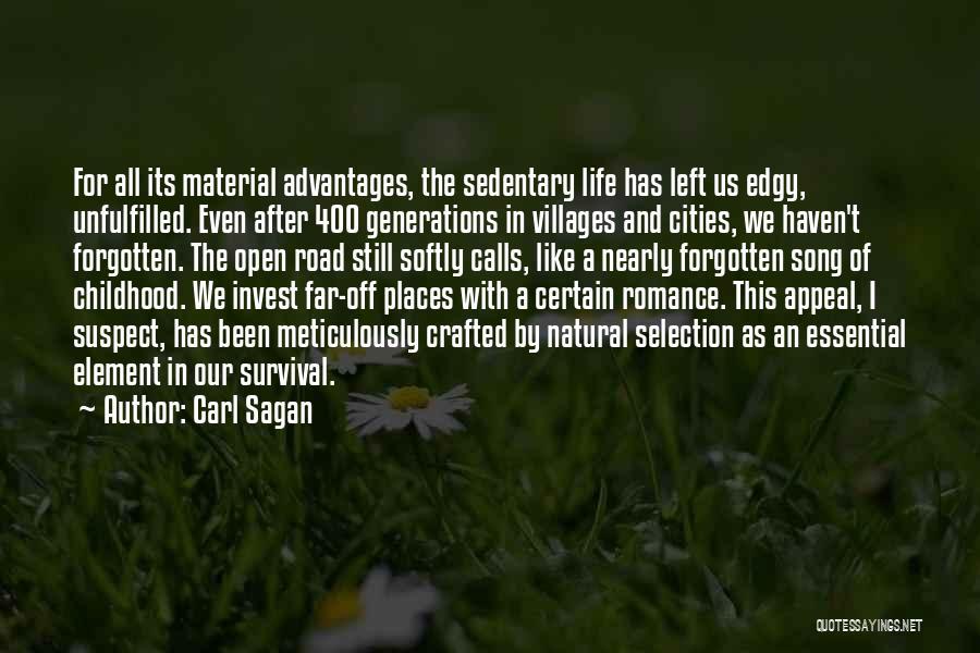 Edgy Song Quotes By Carl Sagan