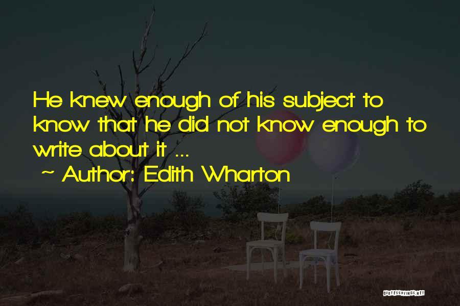 Edith Wharton Quotes 1387326