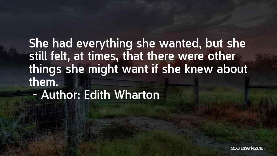 Edith Wharton Quotes 344623