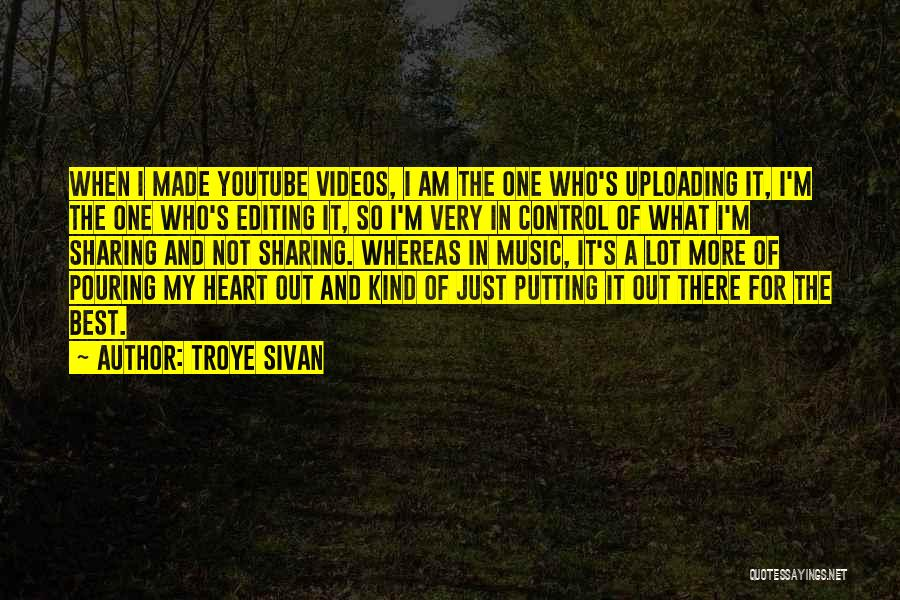 Editing Video Quotes By Troye Sivan