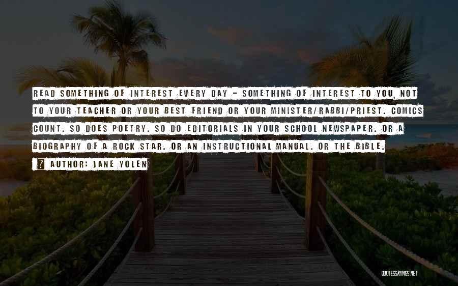 Editorials Quotes By Jane Yolen