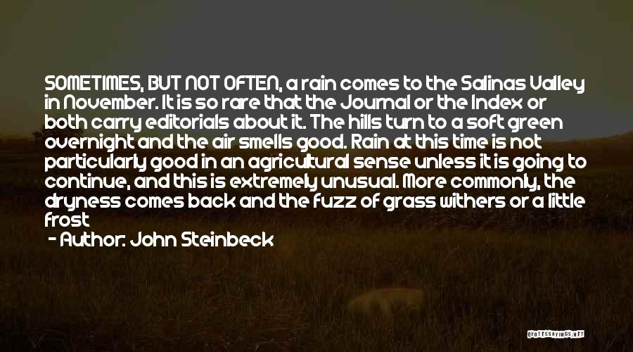 Editorials Quotes By John Steinbeck