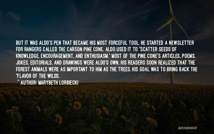 Editorials Quotes By Marybeth Lorbiecki