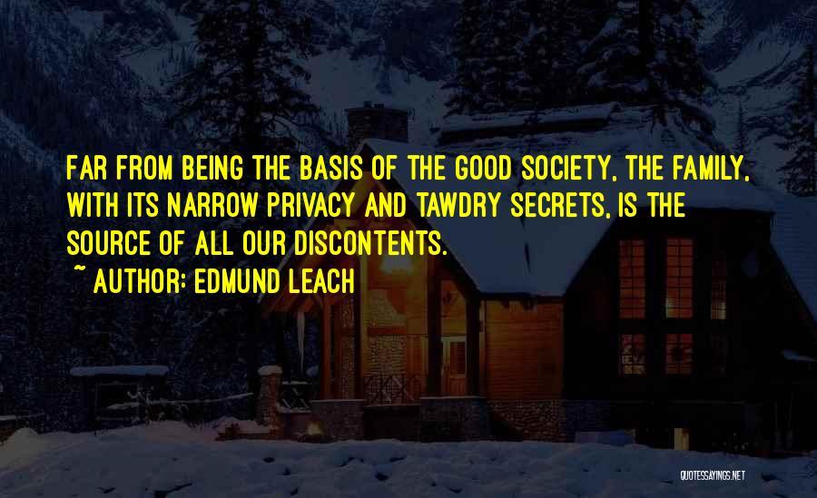 Edmund Leach Quotes 1704836