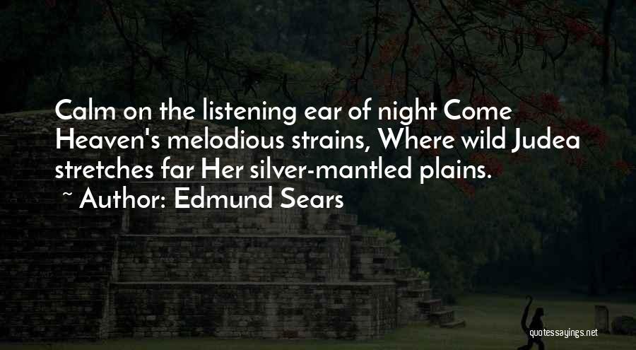Edmund Sears Quotes 1595409