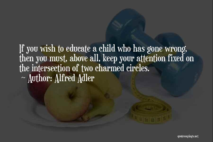 Educate Your Child Quotes By Alfred Adler