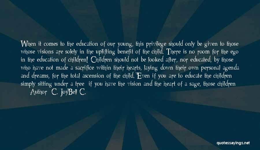 Educating The Whole Child Quotes By C. JoyBell C.
