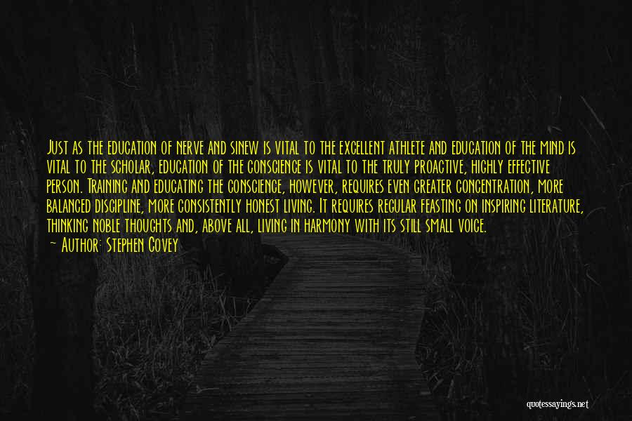 Educating Yourself Quotes By Stephen Covey