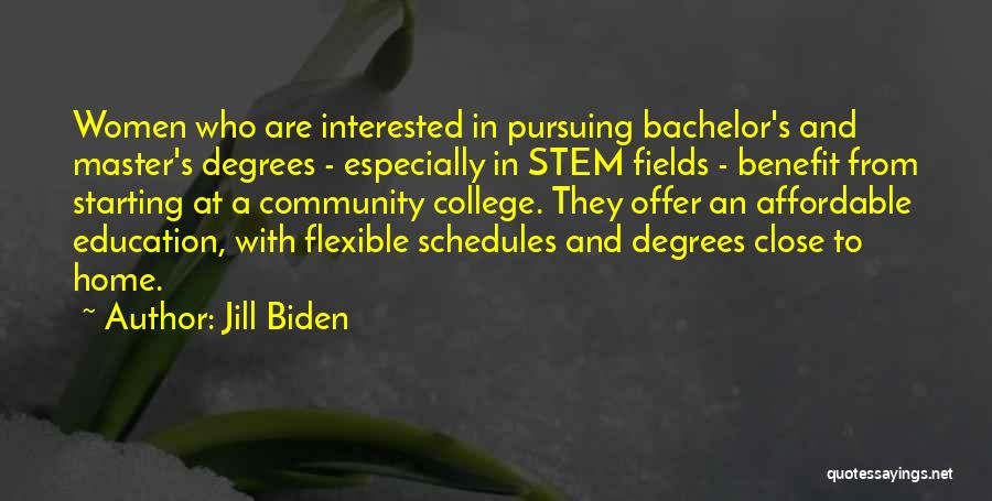 Education At Home Quotes By Jill Biden
