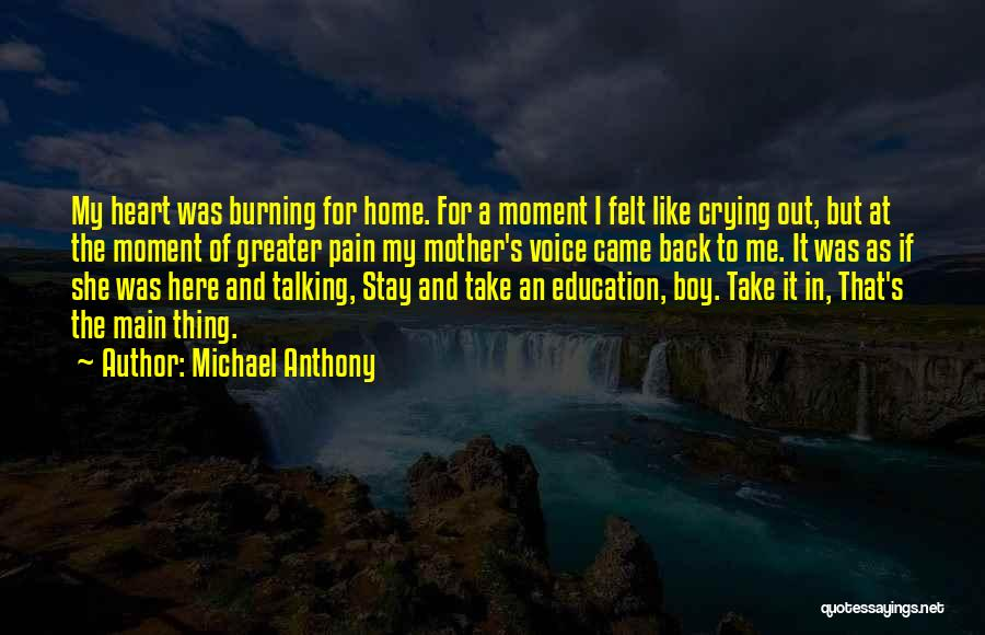 Education At Home Quotes By Michael Anthony