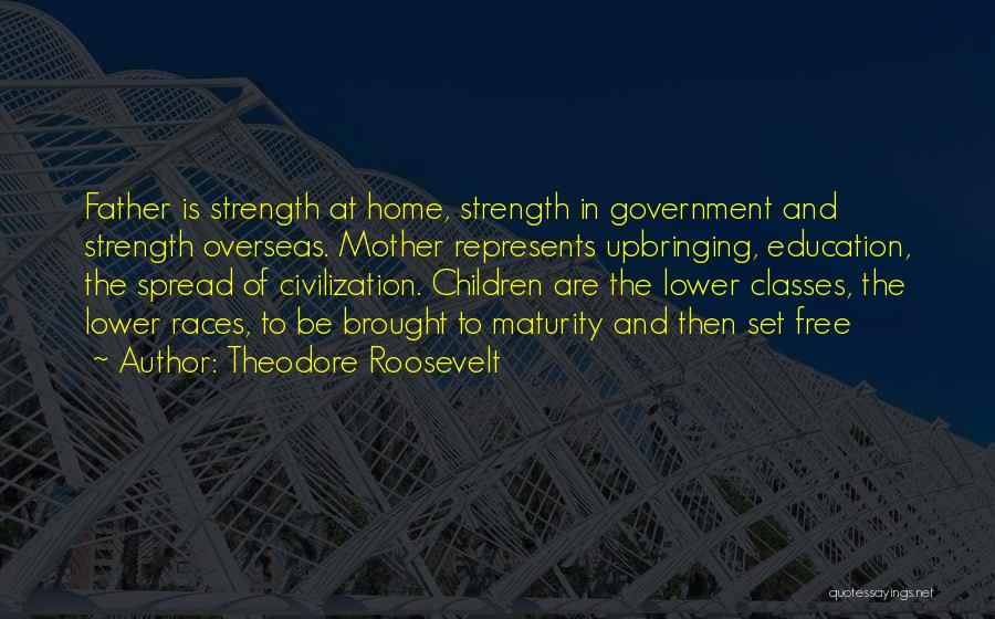 Education At Home Quotes By Theodore Roosevelt