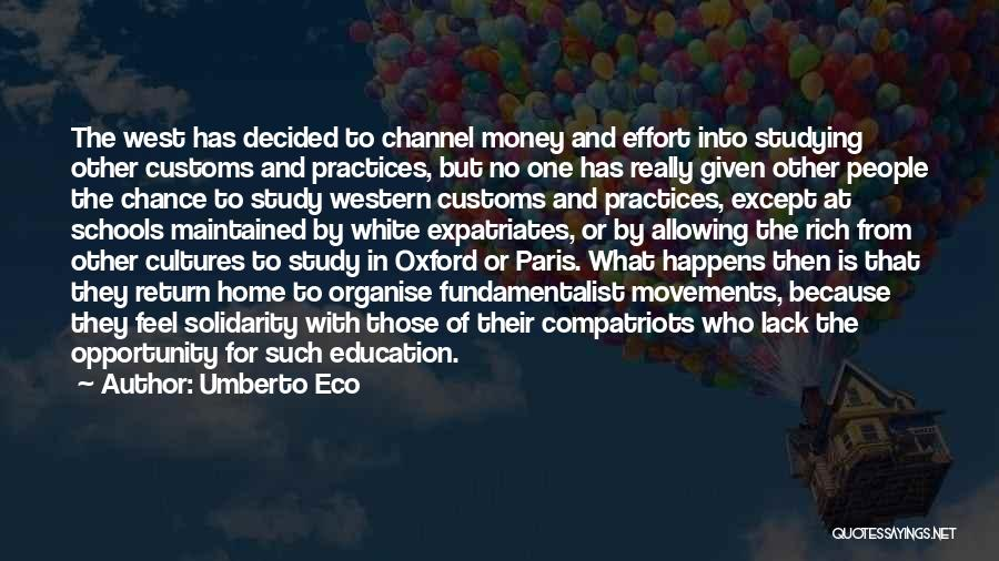 Education At Home Quotes By Umberto Eco