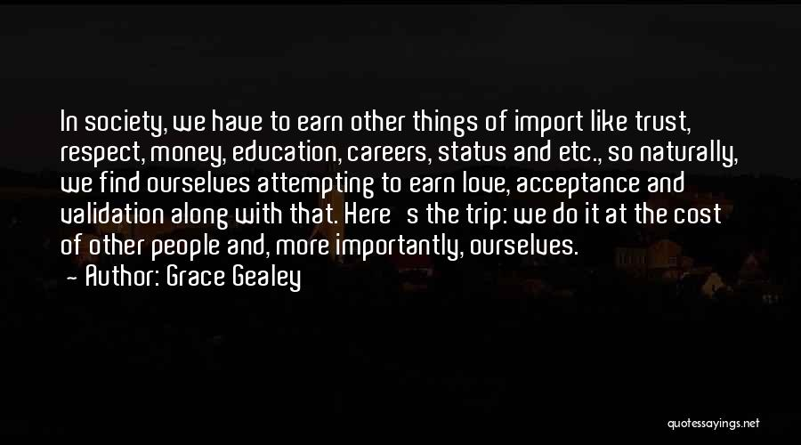 Education Cost Quotes By Grace Gealey