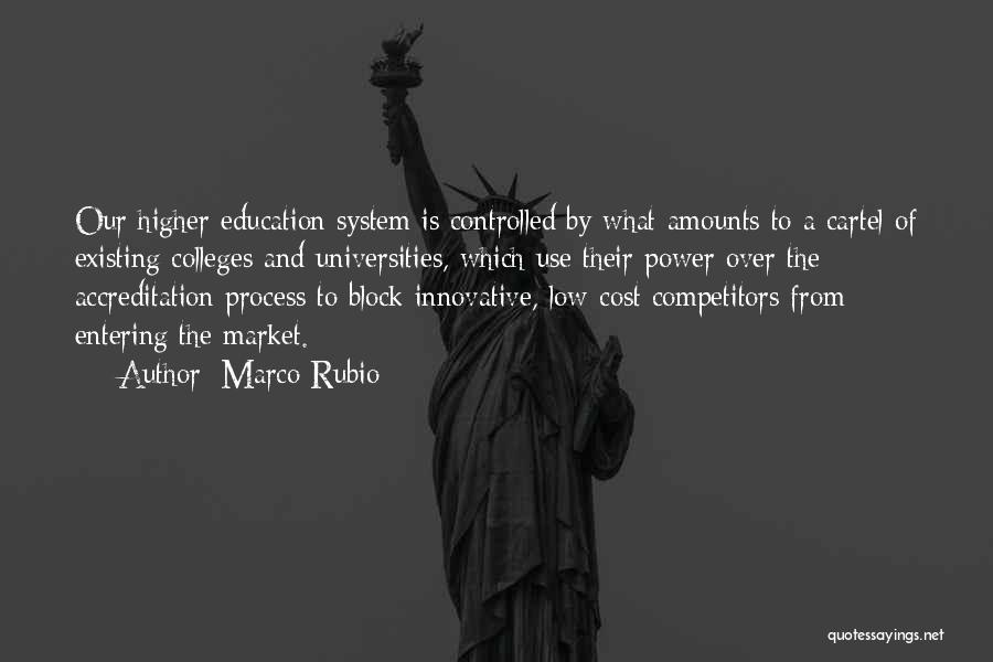 Education Cost Quotes By Marco Rubio