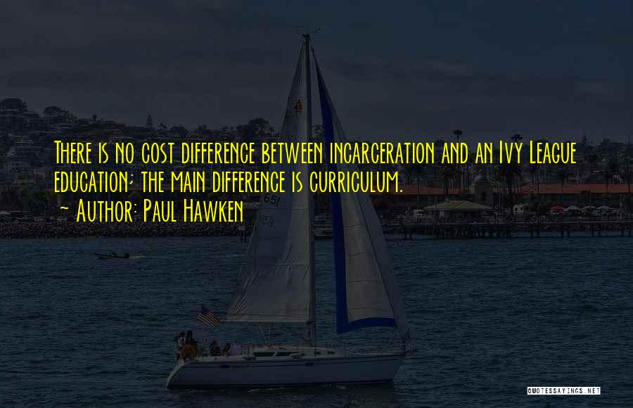Education Cost Quotes By Paul Hawken