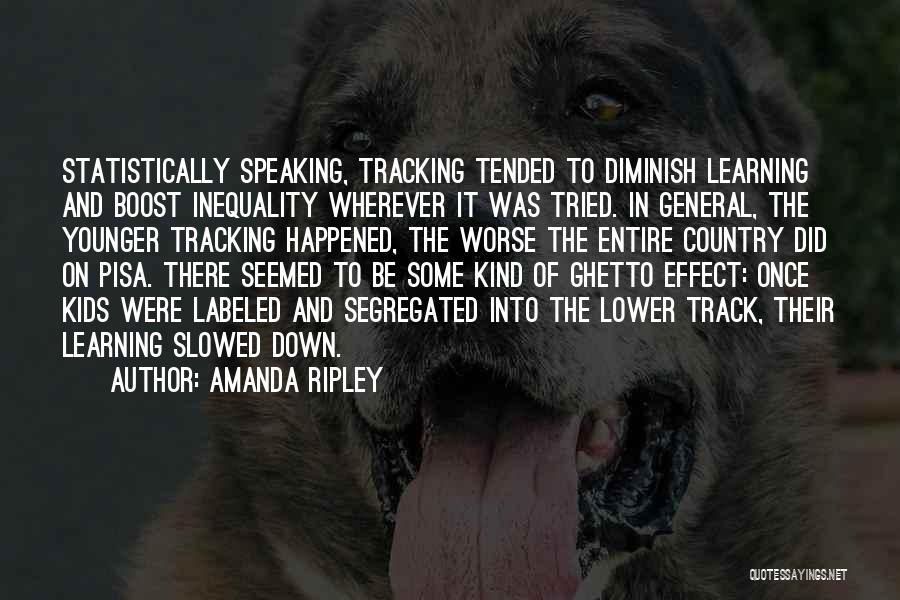 Education Inequality Quotes By Amanda Ripley