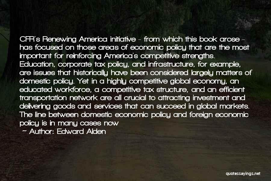 Education Is More Important Quotes By Edward Alden