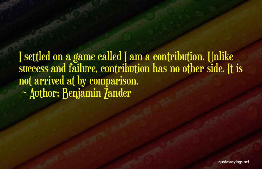 Education Is Success Quotes By Benjamin Zander