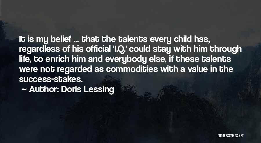 Education Is Success Quotes By Doris Lessing