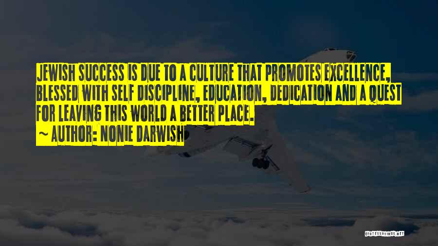 Education Is Success Quotes By Nonie Darwish