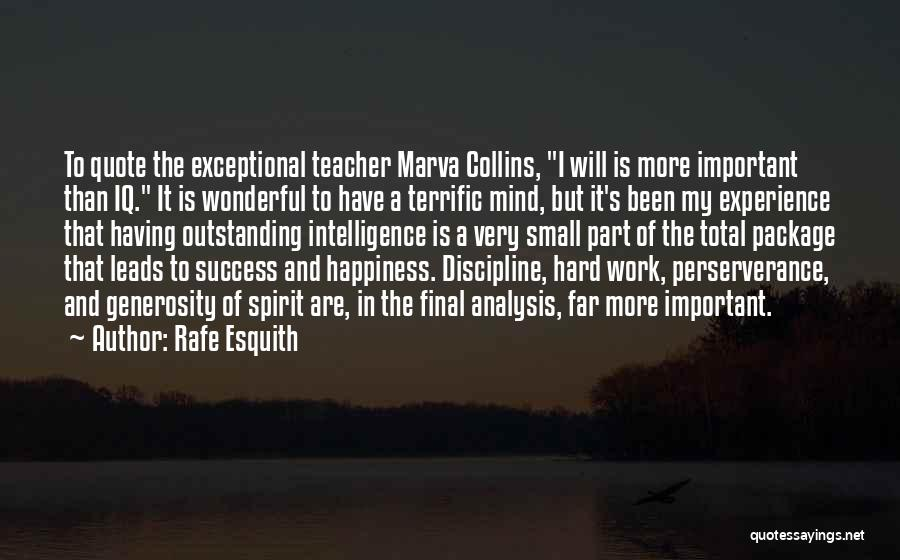 Education Is Success Quotes By Rafe Esquith