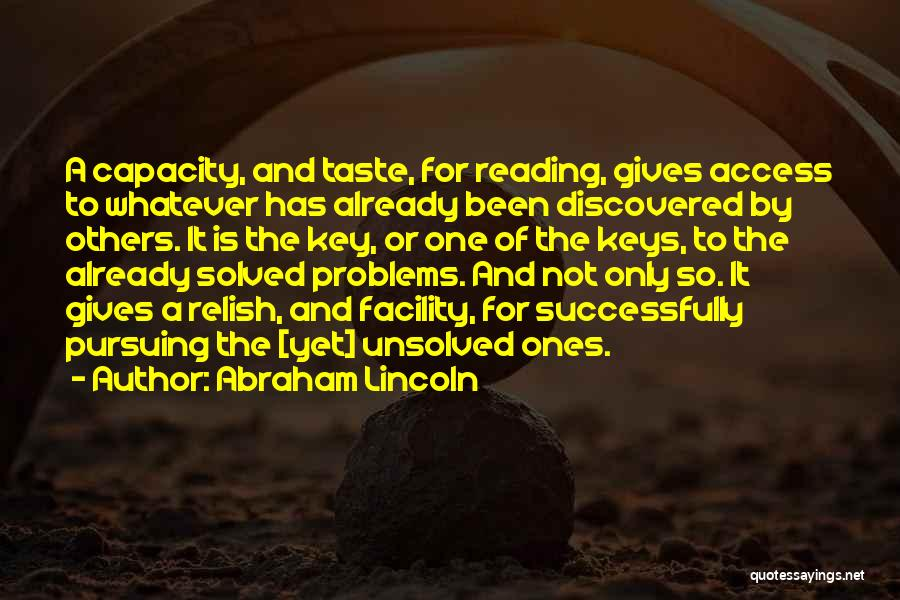 Education Problems Quotes By Abraham Lincoln
