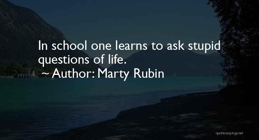 Education Problems Quotes By Marty Rubin