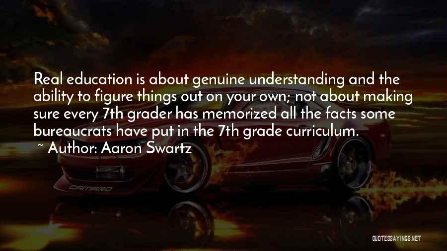 Education To All Quotes By Aaron Swartz