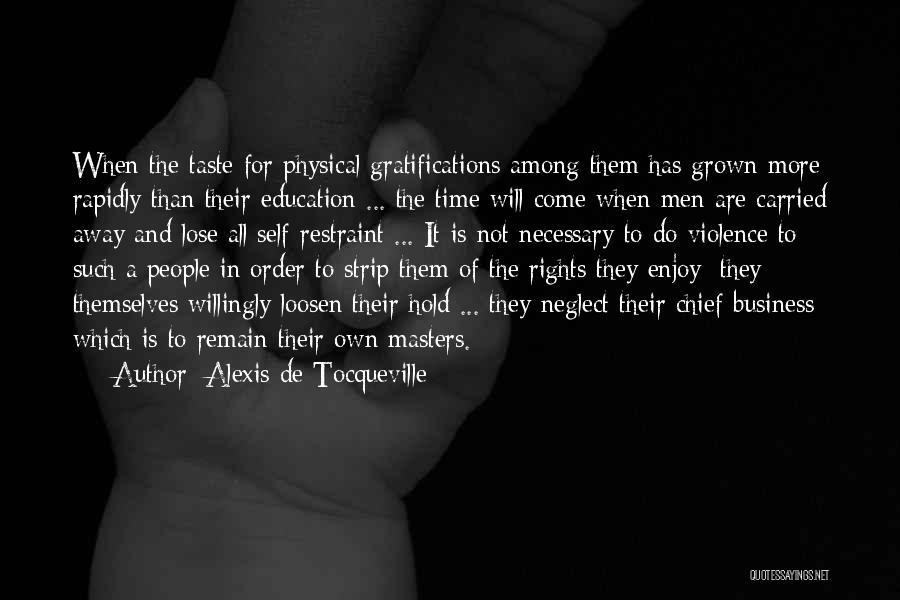 Education To All Quotes By Alexis De Tocqueville
