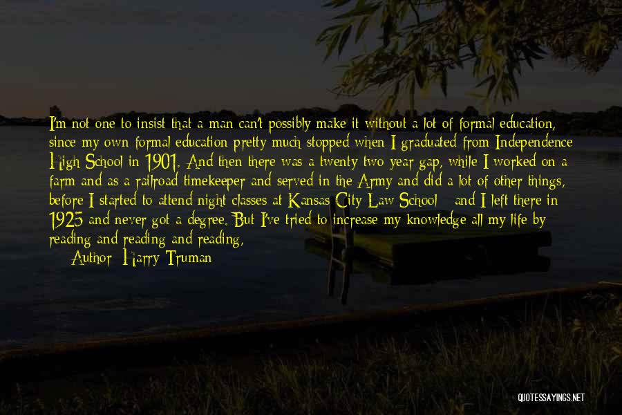 Education To All Quotes By Harry Truman