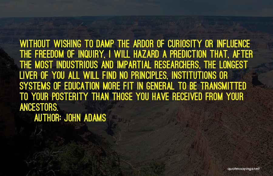 Education To All Quotes By John Adams