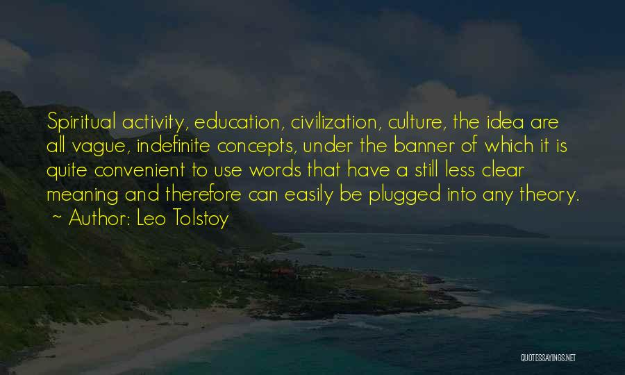 Education To All Quotes By Leo Tolstoy