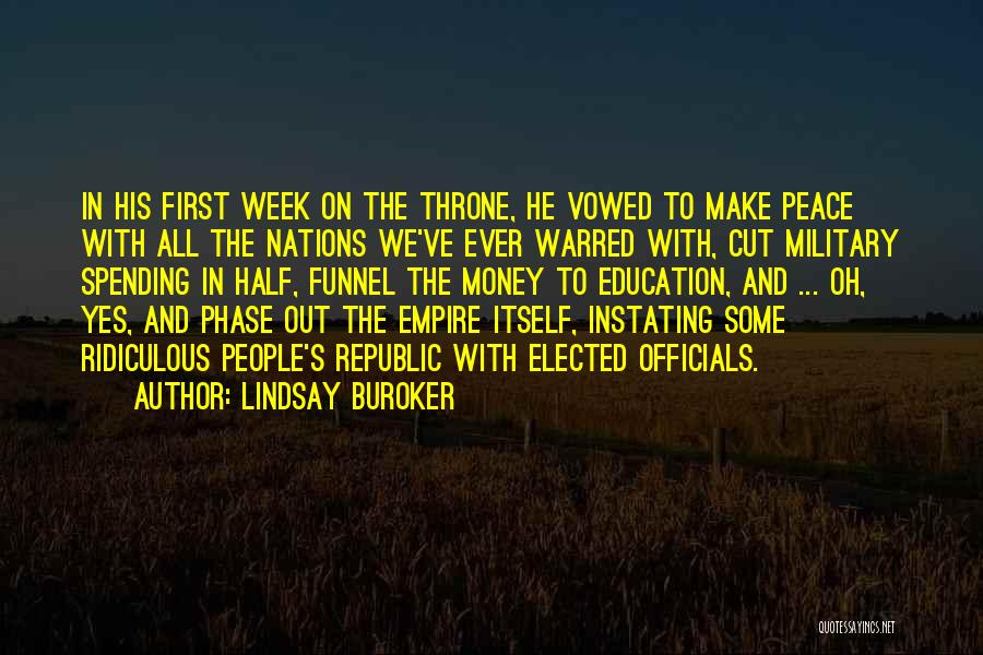 Education To All Quotes By Lindsay Buroker