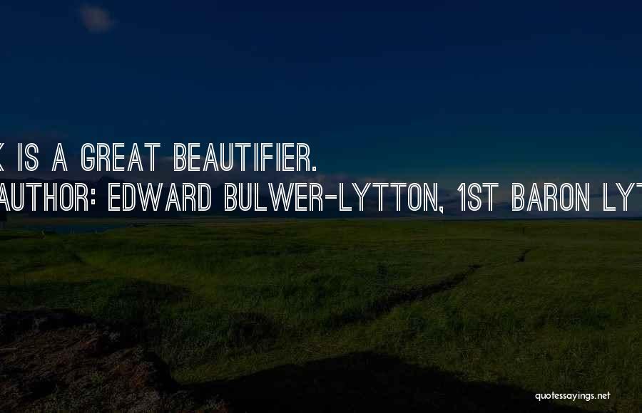 Edward Bulwer-Lytton, 1st Baron Lytton Quotes 1014168