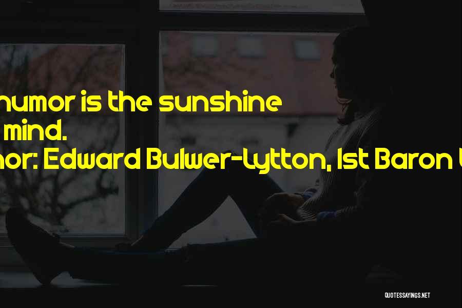 Edward Bulwer-Lytton, 1st Baron Lytton Quotes 1149741