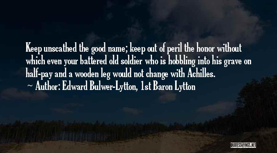 Edward Bulwer-Lytton, 1st Baron Lytton Quotes 121972