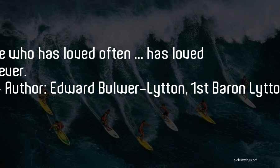 Edward Bulwer-Lytton, 1st Baron Lytton Quotes 1454380