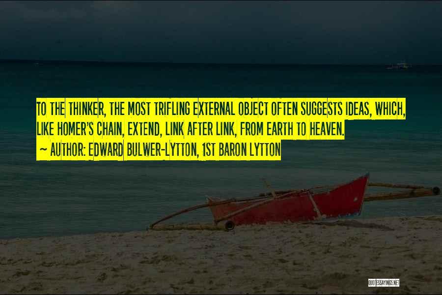 Edward Bulwer-Lytton, 1st Baron Lytton Quotes 1483135