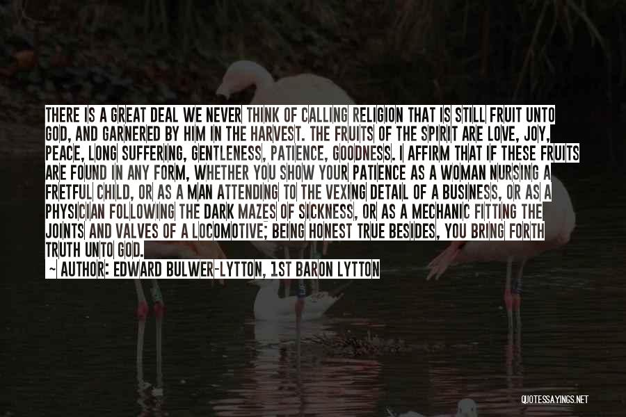 Edward Bulwer-Lytton, 1st Baron Lytton Quotes 179622