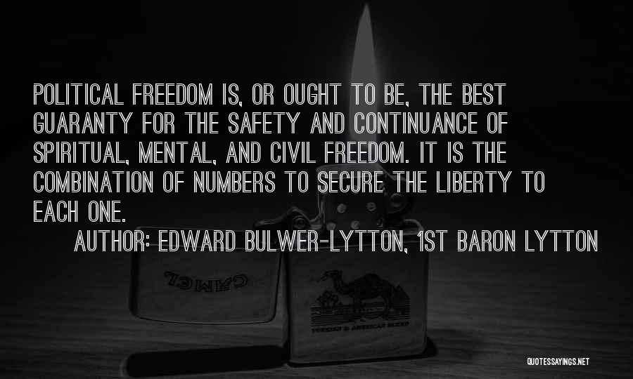 Edward Bulwer-Lytton, 1st Baron Lytton Quotes 2176448