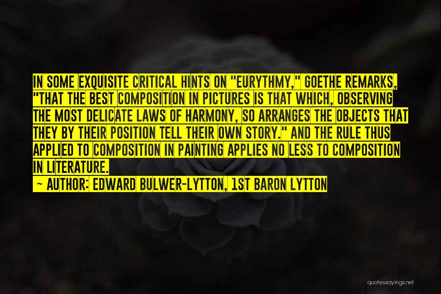 Edward Bulwer-Lytton, 1st Baron Lytton Quotes 221475