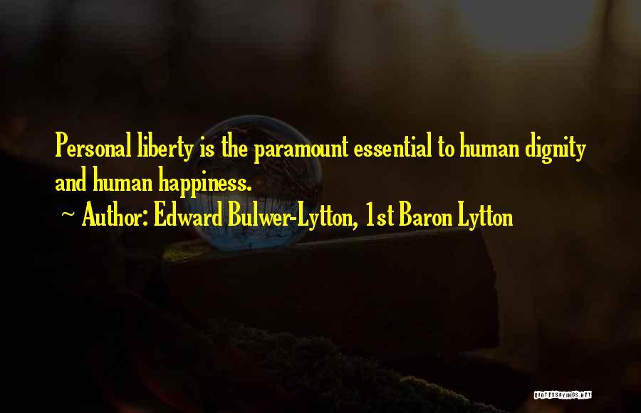 Edward Bulwer-Lytton, 1st Baron Lytton Quotes 271075