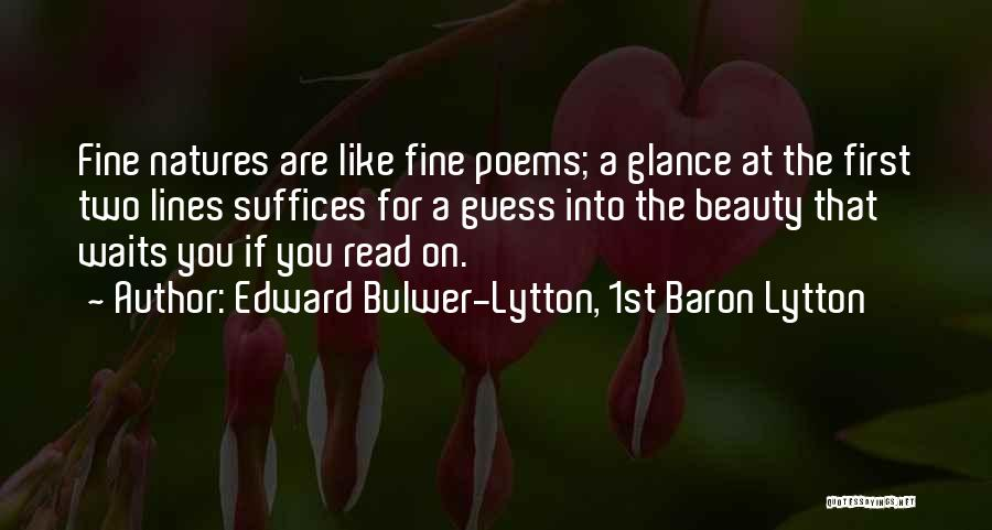 Edward Bulwer-Lytton, 1st Baron Lytton Quotes 732168