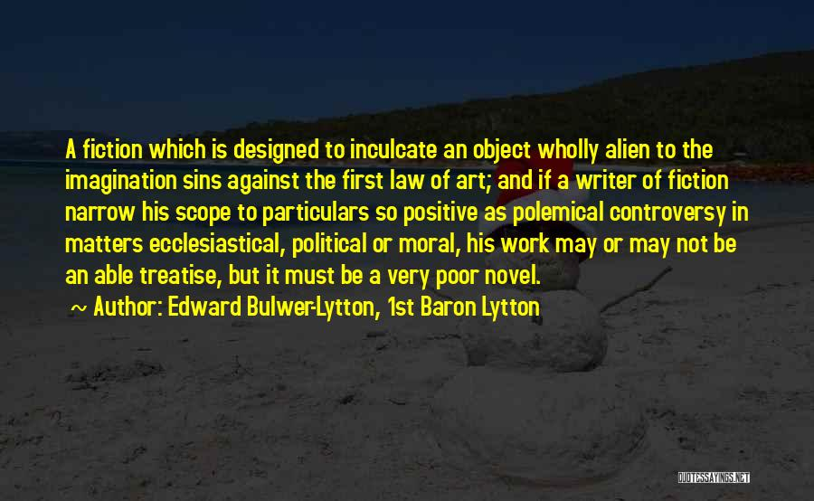Edward Bulwer-Lytton, 1st Baron Lytton Quotes 812293