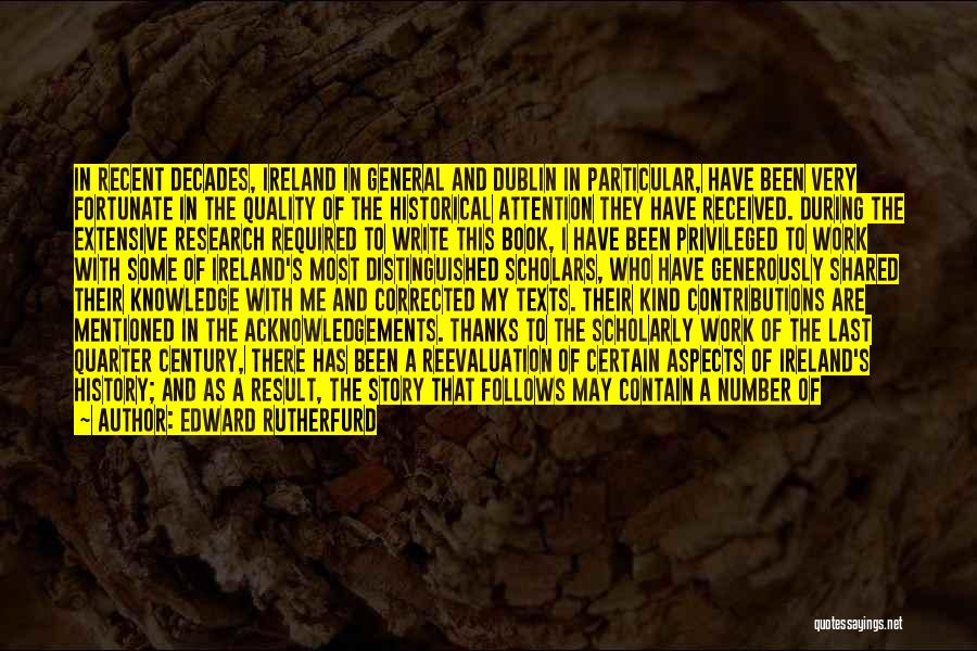 Edward Rutherfurd Quotes 1571701